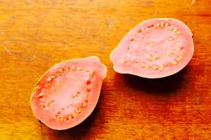 Bisected Guava