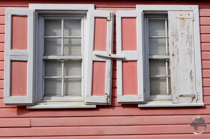 Swedish-era colonial cottage in Gustavia.