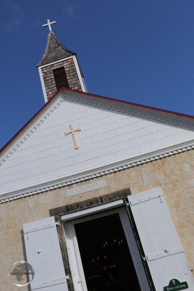 Saint-Bartholomew Anglican Church, Gustavia.