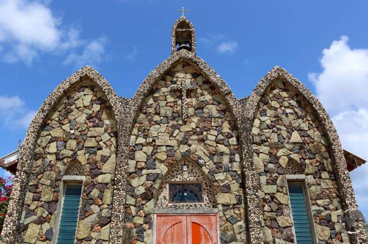 Anguilla Travel Guide: The Catholic church in the Valley