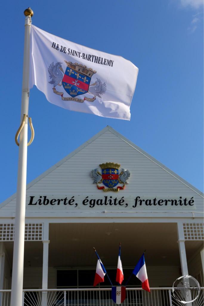 Hôtel de la Collectivité in Gustavia.