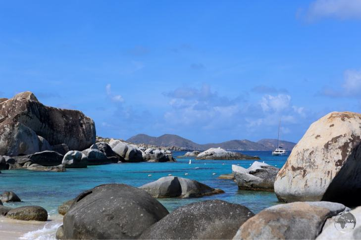 The Baths on Virgin Gorda island.