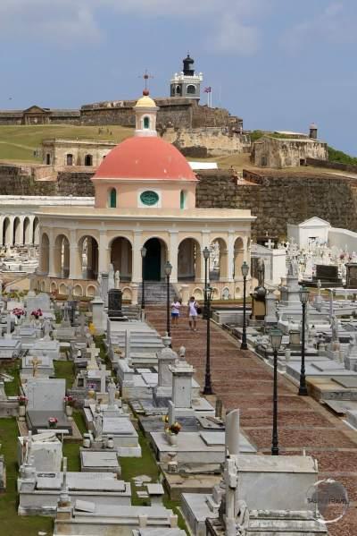 Santa Maria Magdalena De Pazzis Cemetery in San Juan.