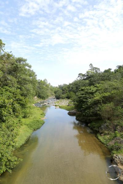 The view of the Rio Jemenez in Jarabacoa.