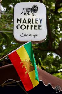 Marley Coffee shop in Kingston