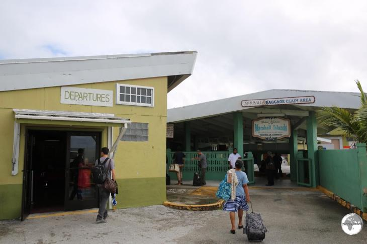 Terminal at Majuro Airport.