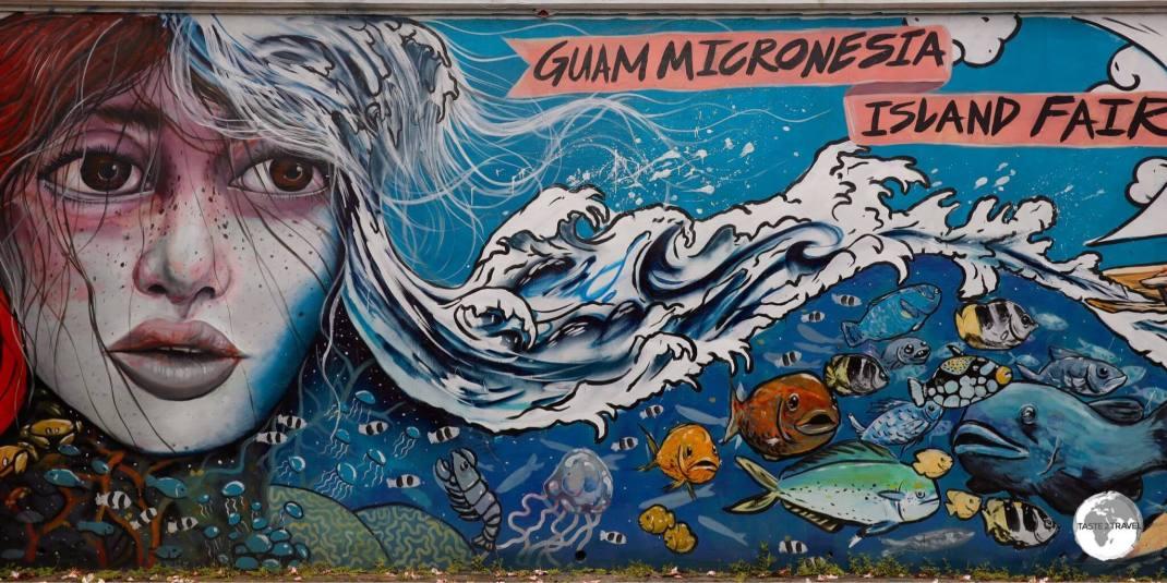 Street Art Guam.