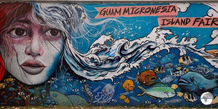 Street art on Guam.