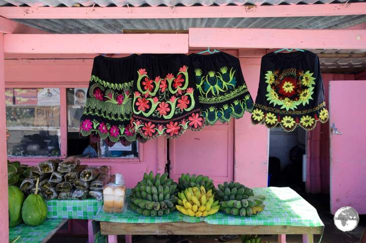 Chuuk Travel Guide: A shop in downtown Weno, the capital of Chuuk.