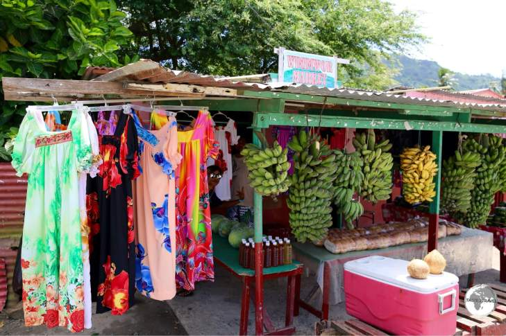 A shop in Weno, the capital of Chuuk.