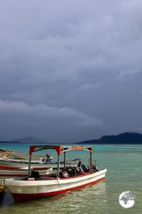 Stormy skies over Chuuk.