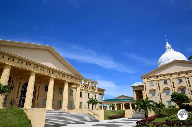 Capital buildings, Ngerulmud.