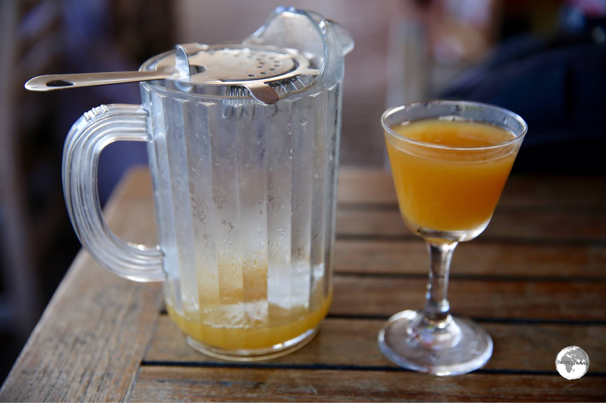 A Rum Swizzle at the Swizzle Inn.