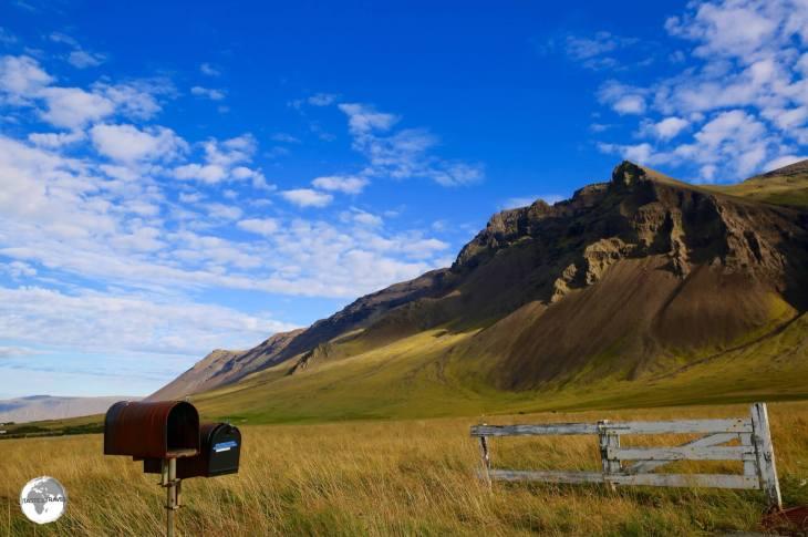 Scenery on the Snæfellsnes peninsula.