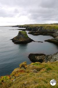 Iceland Travel Guide: Arnarstapi coastline.