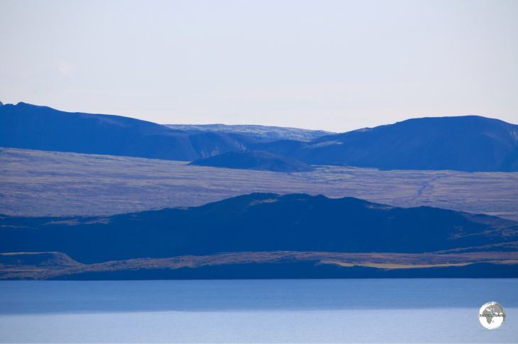 Þingvallavatn Lake, the largest lake in Iceland is part of Þingvellir National Park.