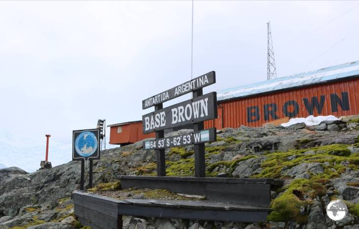 "A visit to the Argentine ""Base Brown"", allowed us to finally step ashore the actual continent of Antarctica."