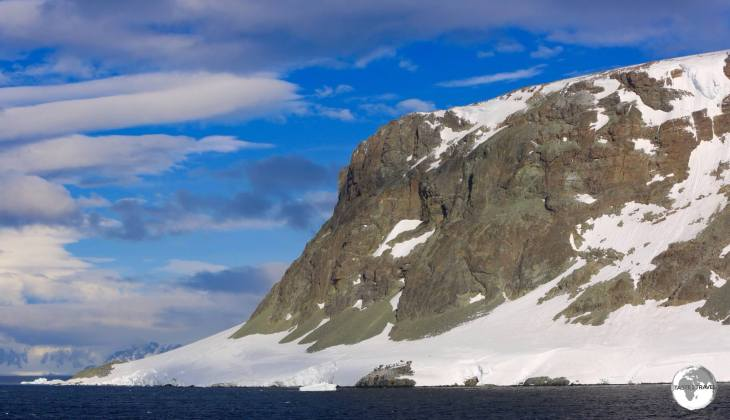 Our first blue skies in Antarctica came on the afternoon of day 7 while cruising through the stunning Lemaire channel.