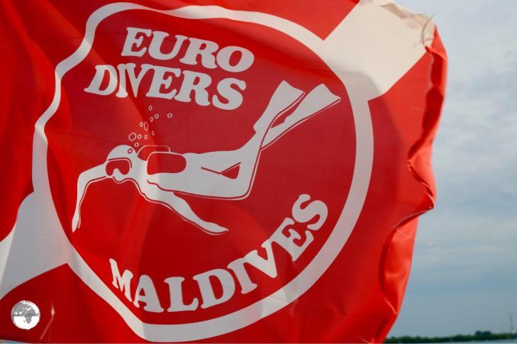 Euro Divers operate a very professional dive shop at Vilamendhoo resort.