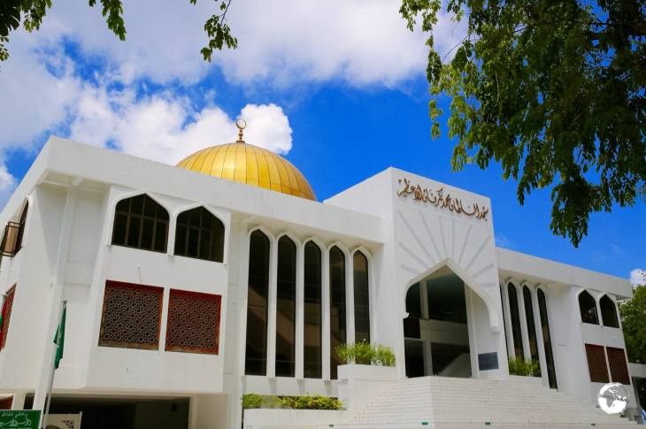 The Islamic Centre in Malé is home to the Grand Friday Mosque, one of the largest mosques in Asia.