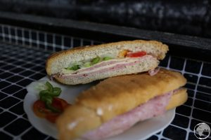The ubiquitous and popular Cuban sandwich.