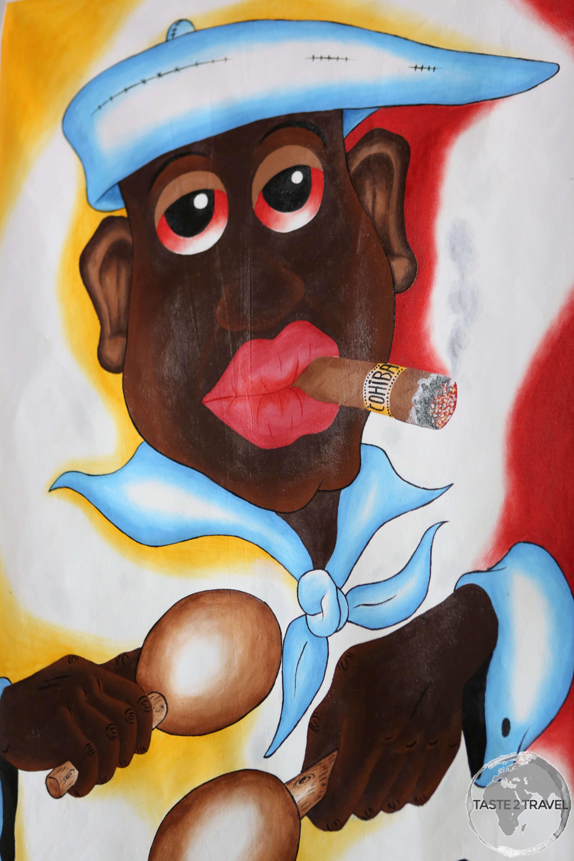 Artwork in Havana.