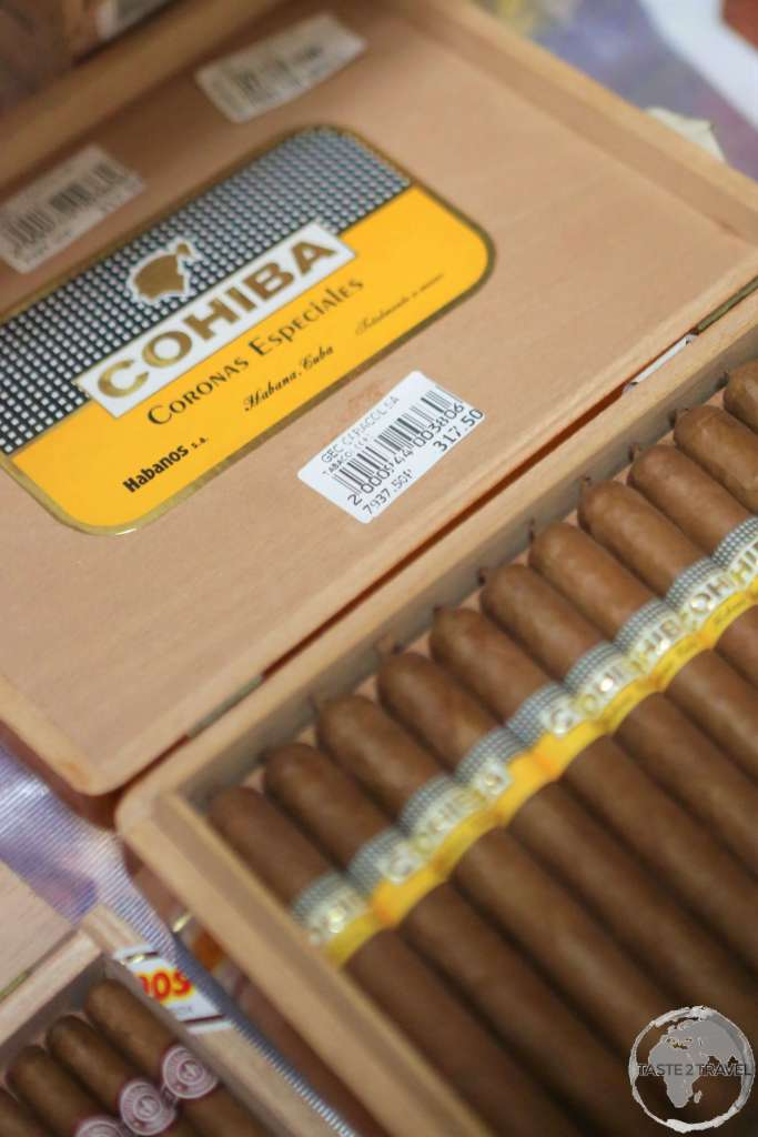 The Cohiba brand was created by Fidel Castro with cigars supplied to party elites and foreign dignitaries.