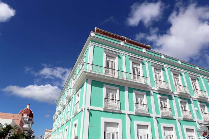 The charming 4-star La Union Hotel is located in the heart of Cienfuegos and almost always fully booked.