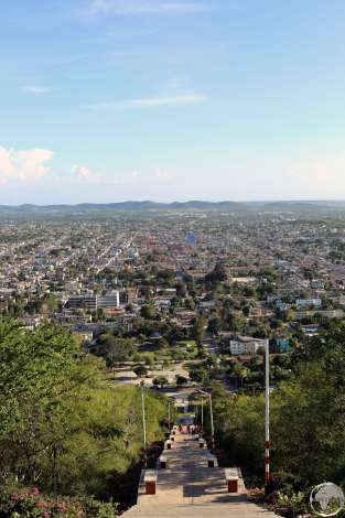 View of Holguin from Loma de la Cruz (Hiill of the Cross).