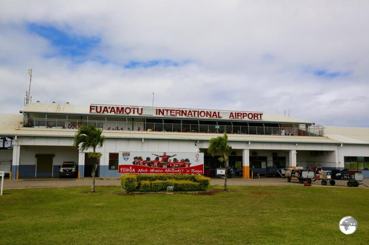 Fua'amotu International Airport - the gateway to Tonga.