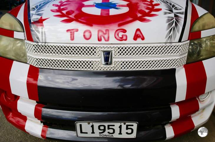 Tongans are very proud and patriotic.