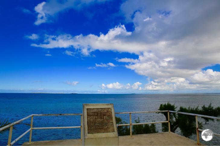 The sight of Abel Tasman's Landing Place.