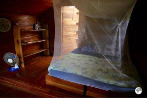 My room at Ovava Tree Lodge.