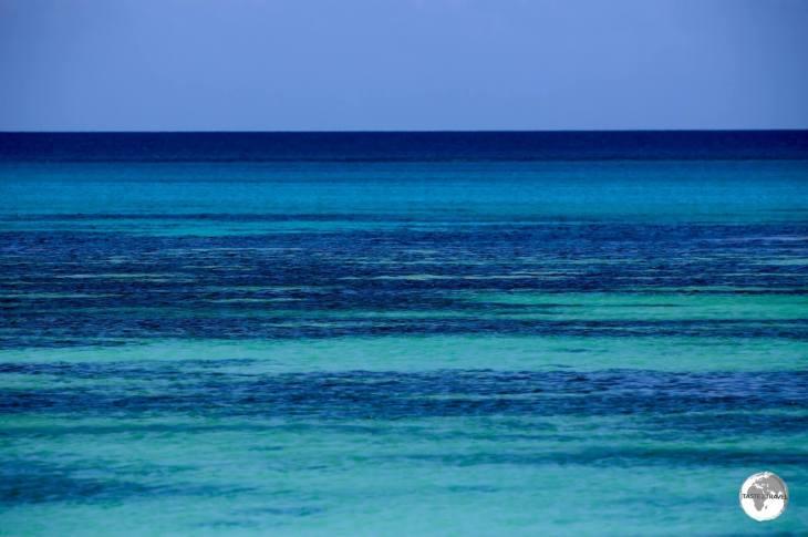 """""""Tuvalu Blues"""" - a view of Funafuti lagoon."""