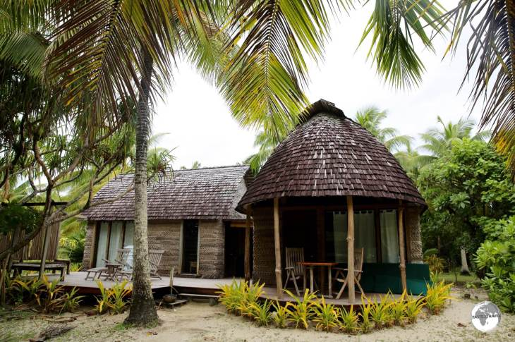 The Fales at Fafa Island resort are set on secluded sites around the island, maximising privacy for their guests.