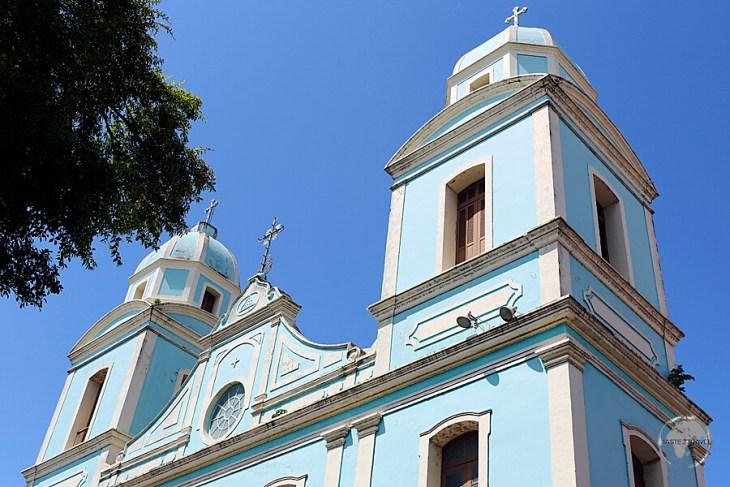 The historic Catedral Metropolitana de Santarém dominates the main square of Santarém.