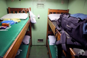 My cosy cabin on the slow boat from Santarem to Belem.