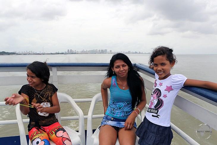 On-board the M/VSao Francisco de Paula leaving Belém for Macapá, a journey of 24 hours.