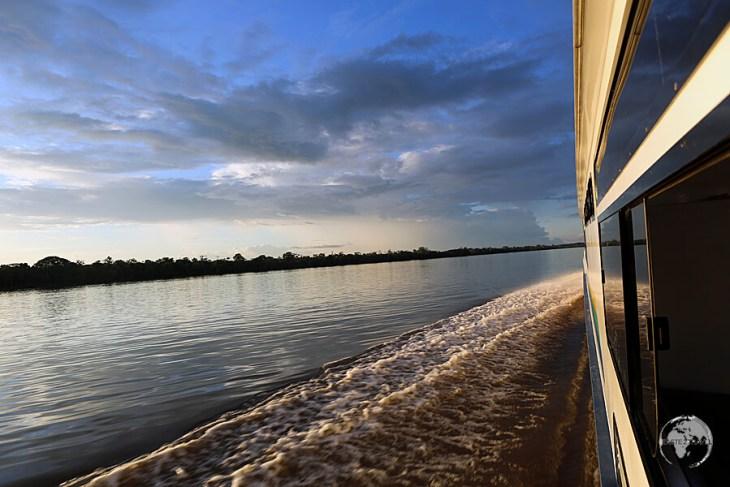 Traveling from Tabatinga to Manaus.