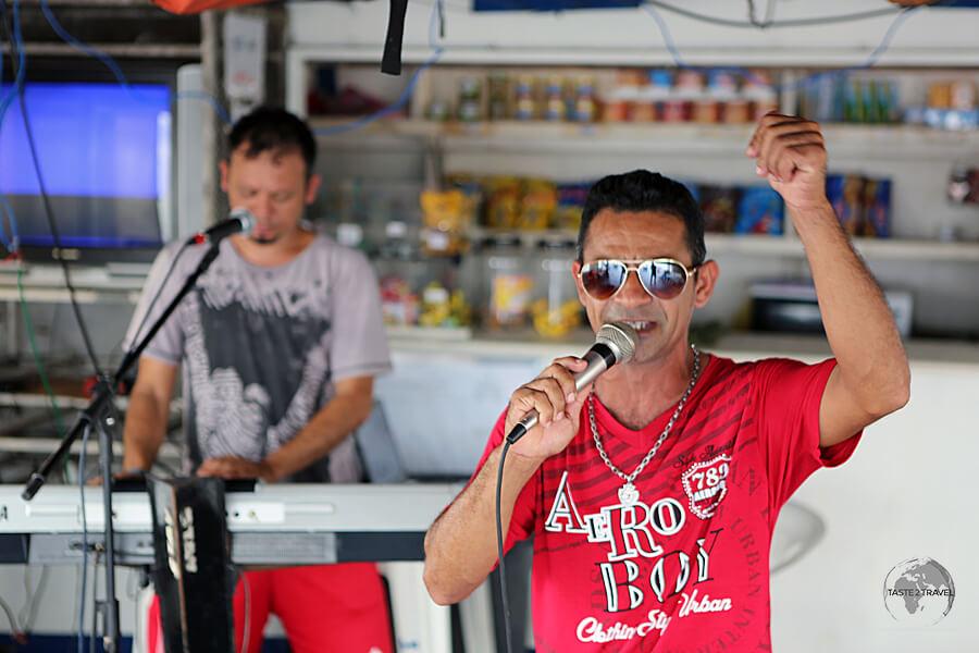 The Brazilians love to party, especially when cruising on a slow Amazon river boat like the M/VSao Francisco de Paula.