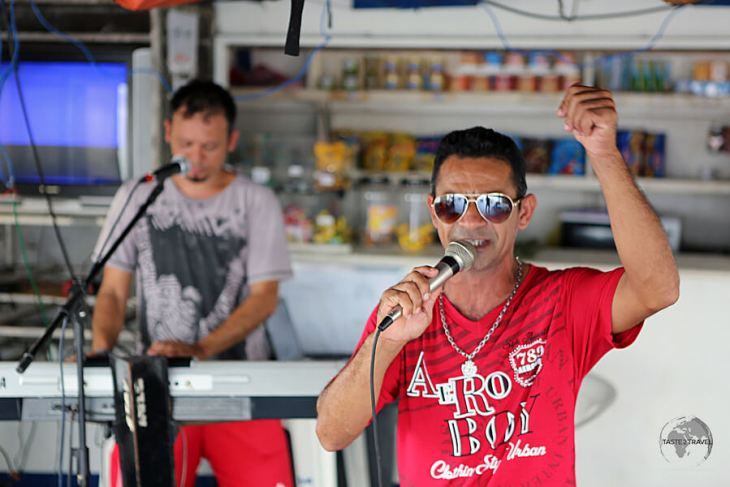 The Brazilians love to party so many of the Amazon river boats, including the M/V Sao Francisco de Paula, include live entertainment.