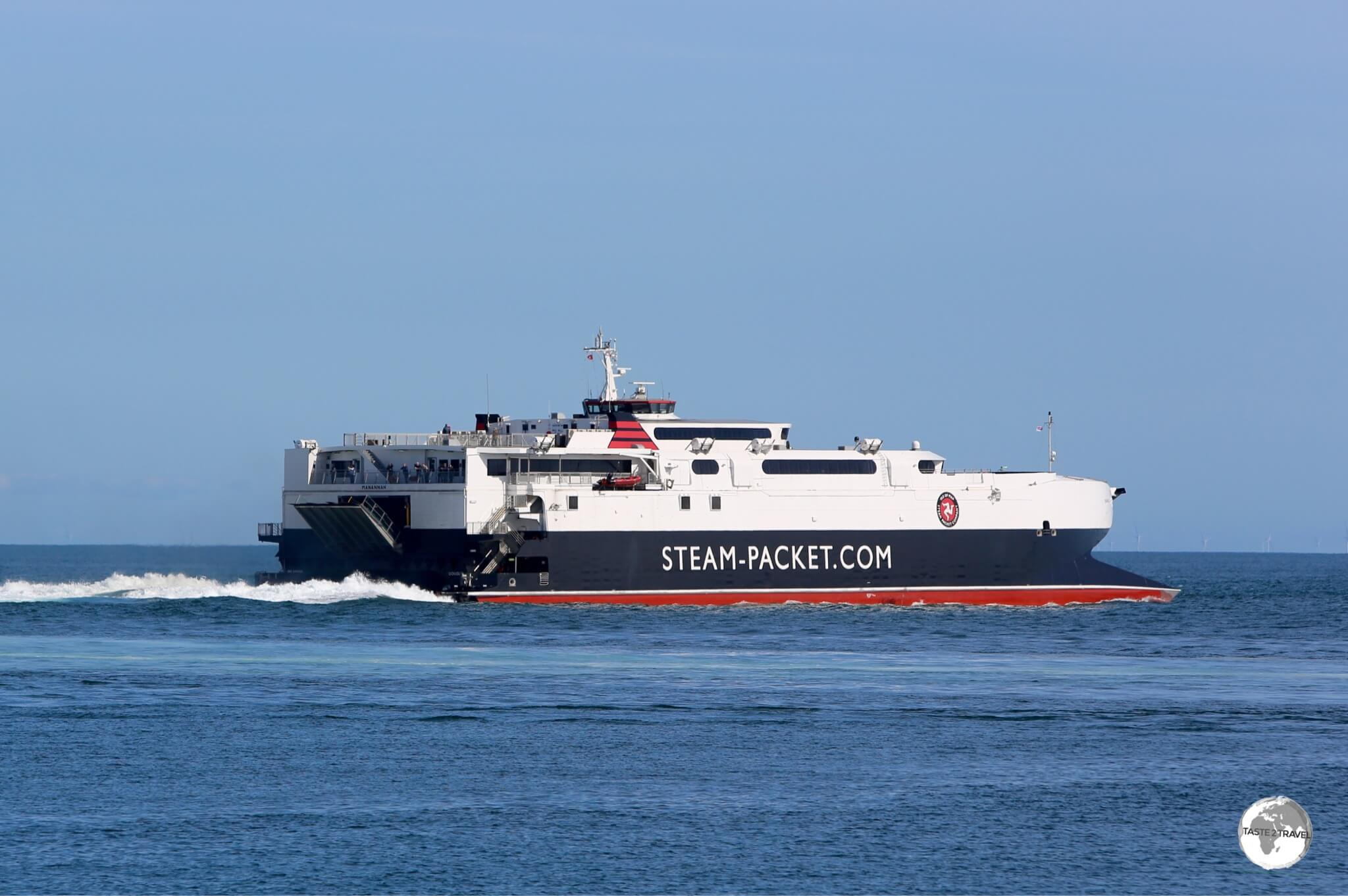 The Isle of Man Steam Packet Company Ferries connect the island to ports in the UK and Ireland.