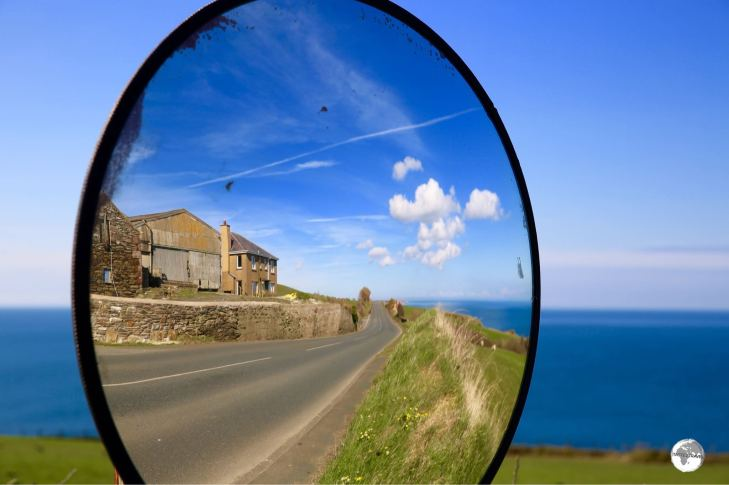 The Isle of Man is small in area, with good infrastructure and varying landscapes.