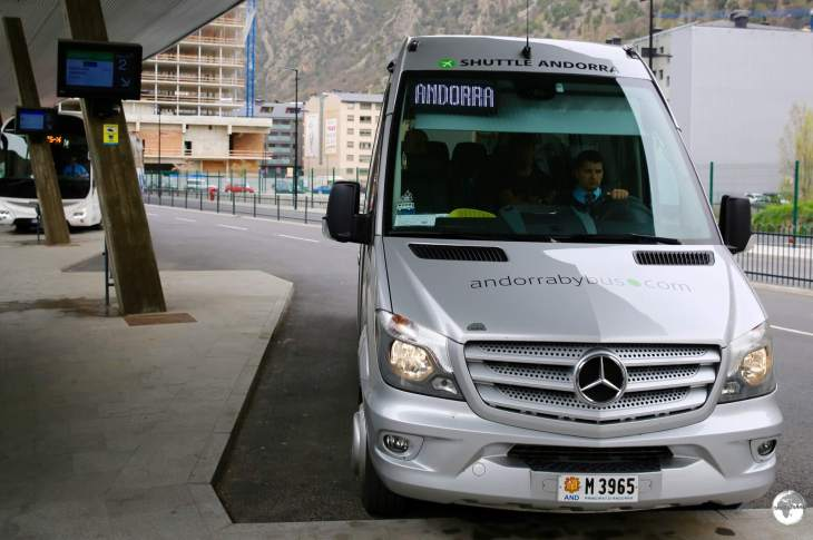 Smaller, faster mini-buses can also be booked.