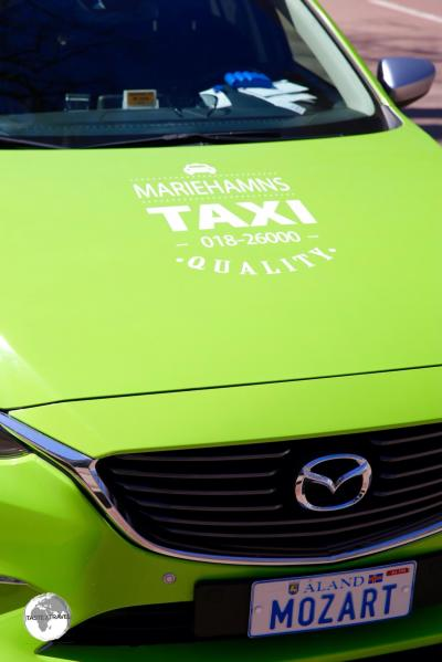 Mariehamns Taxi - nice to ride but expensive.