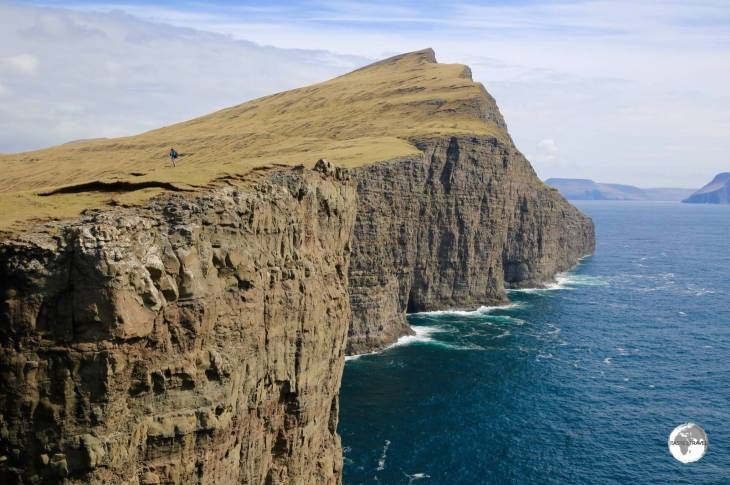 The, rugged, majestic and monumental scenery of the Faroe Islands offer excellent hiking possibilities.