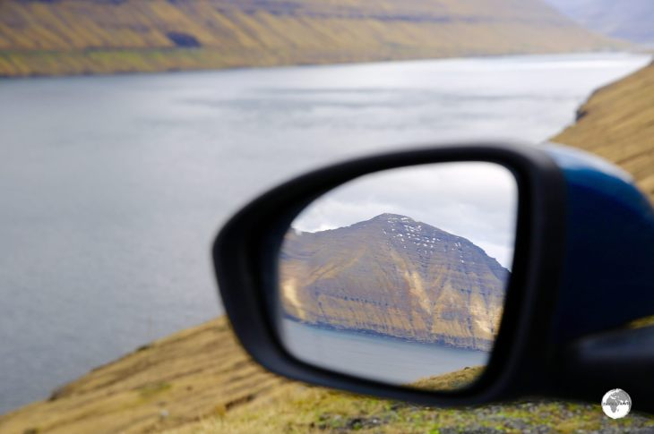 Spectacular views in every direction on the Faroe Islands.