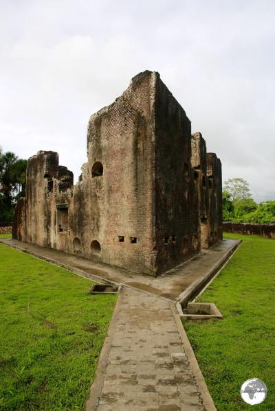 One of the oldest structures in Guyana, the Dutch built Fort Zeelandia was constructed in 1743 on Fort Island.
