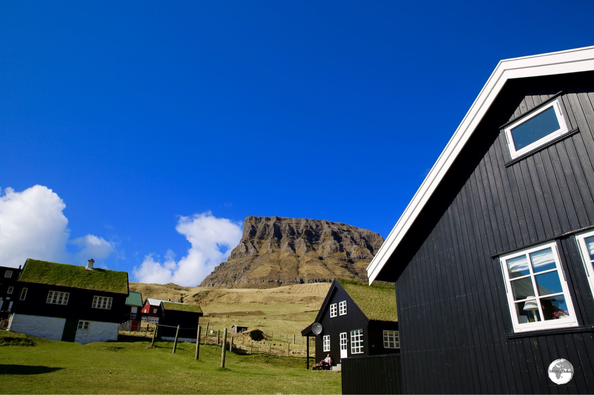 The village of Gásadalur remained isolated from the world until the Gásadalur tunnel was completed.