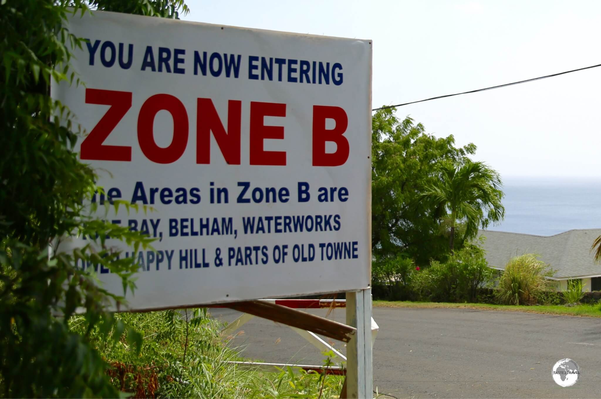 Roadside signs advise when you are entering a particular exclusion zone.